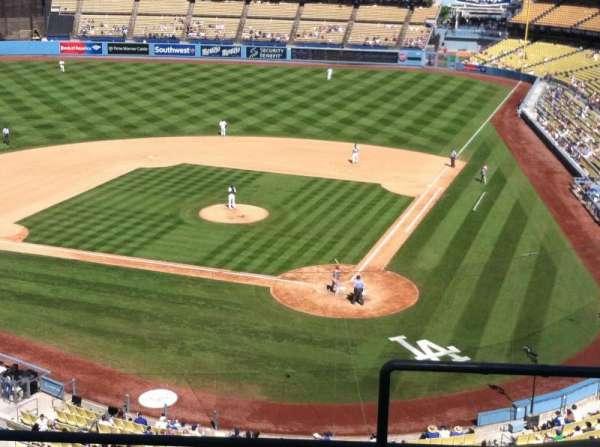 Dodger Stadium, secção: 7RS, fila: E, lugar: 1