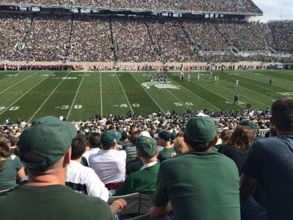 Spartan Stadium, secção: 24, fila: 38, lugar: 29