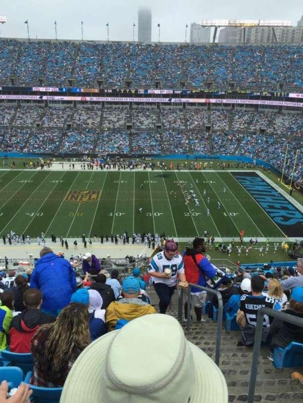 Bank of America Stadium, secção: 541, fila: 14, lugar: 1