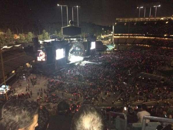 Dodger Stadium, secção: 39RS, fila: T, lugar: 1