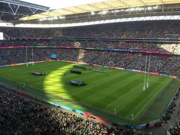 Wembley Stadium, secção: 521, fila: 1, lugar: 235