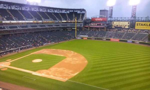 Guaranteed Rate Field, secção: 518, fila: 2, lugar: 1