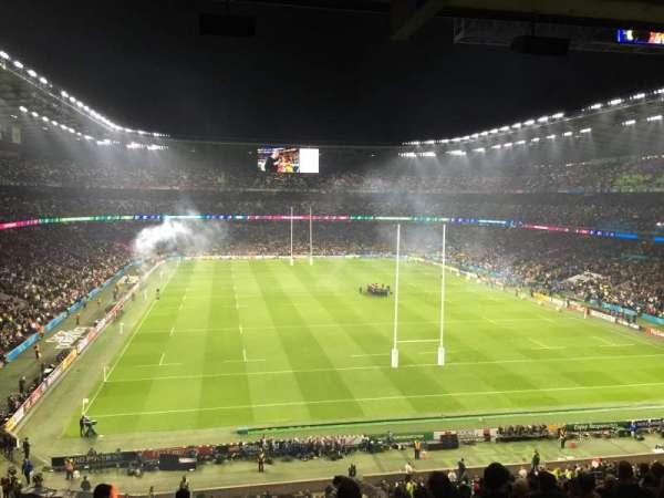 Twickenham Stadium, secção: M22, fila: 68, lugar: 179