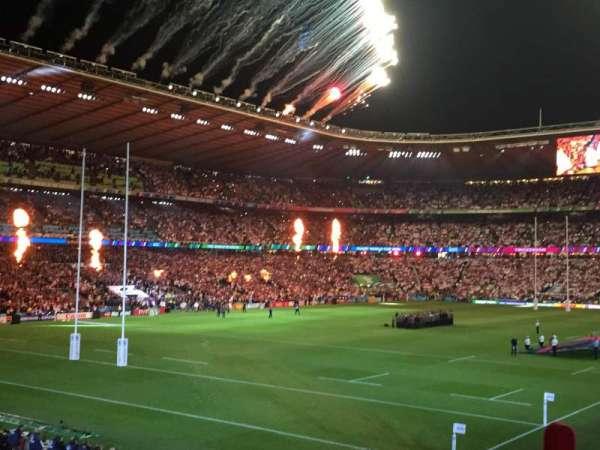 Twickenham Stadium, secção: L31, fila: 27, lugar: 53