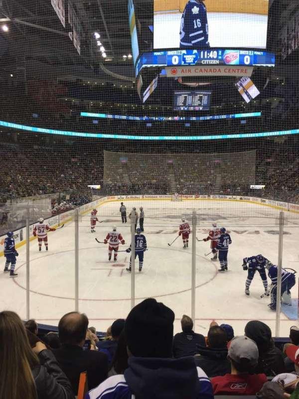 Scotiabank Arena, secção: 115, fila: 11, lugar: 6