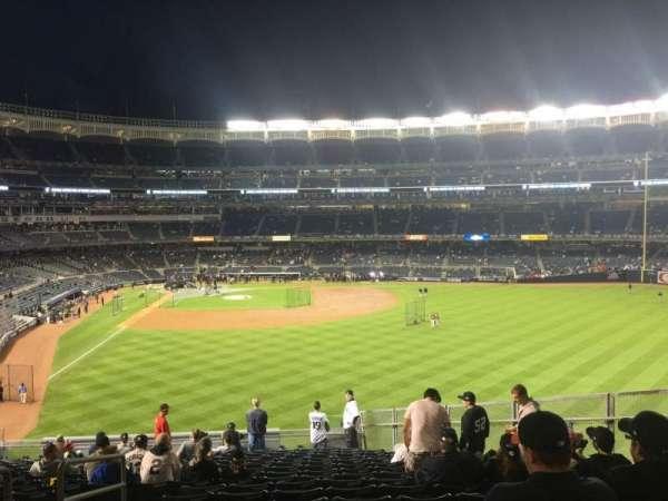 Yankee Stadium, secção: 205, fila: 18, lugar: 17