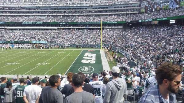 MetLife Stadium, secção: 134, fila: 29, lugar: 6