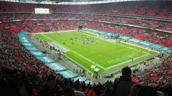 Wembley Stadium, secção: 519, fila: 21, lugar: 167