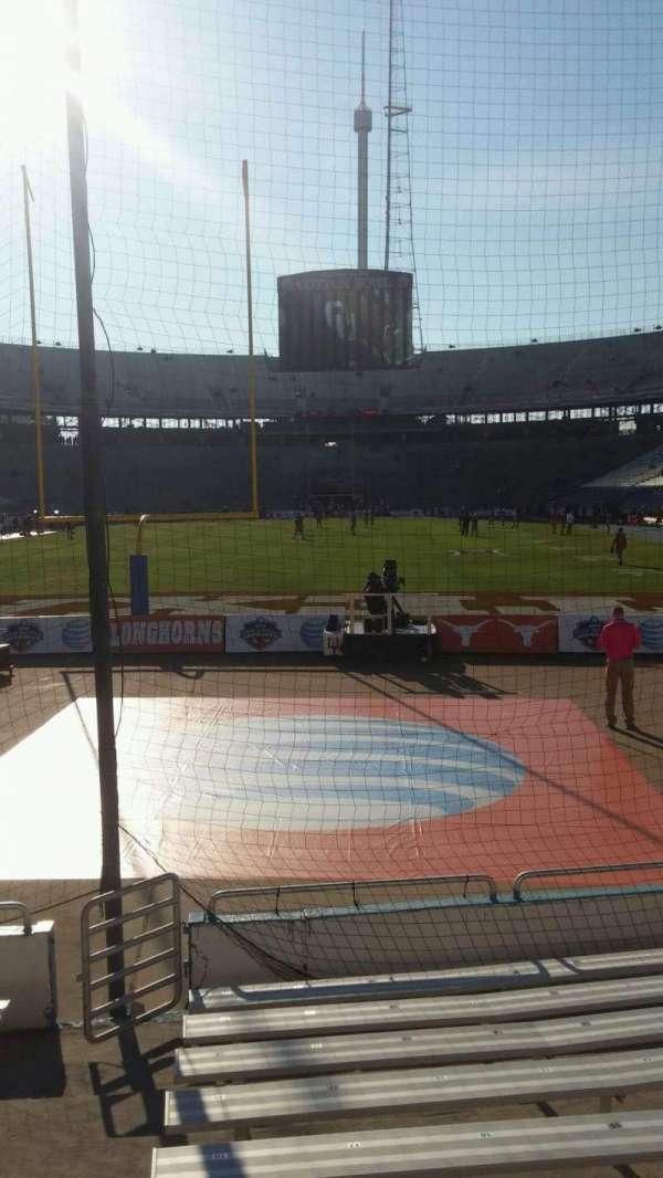 Cotton Bowl, secção: 14, fila: 11, lugar: 21