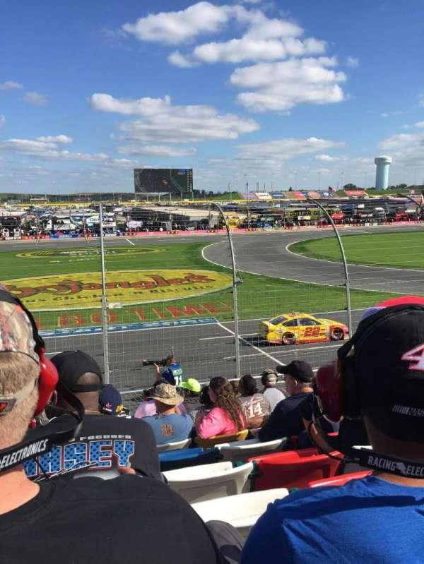Charlotte Motor Speedway, secção: Chrysler, fila: 12, lugar: 35