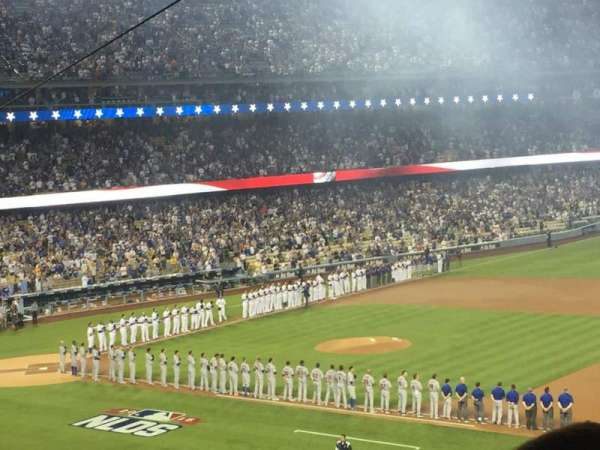 Dodger Stadium, secção: 142lg, fila: R, lugar: 4-5