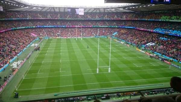 Twickenham Stadium, secção: U21, fila: E, lugar: 167