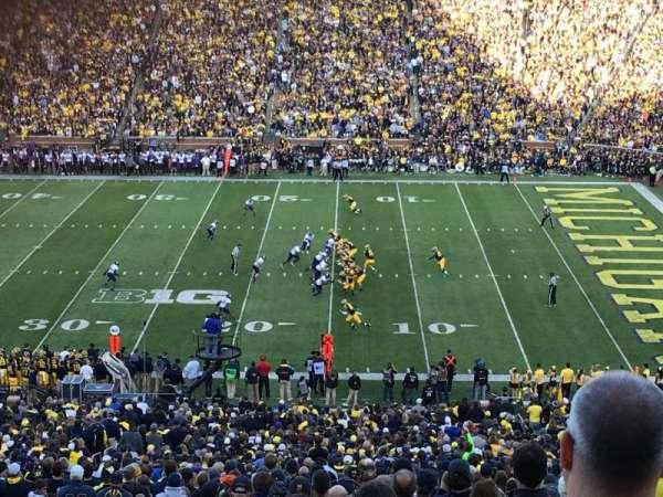 Michigan Stadium, secção: 21, fila: 78, lugar: 27