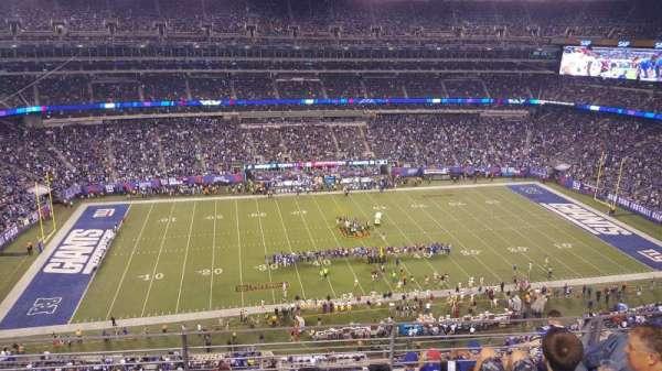 MetLife Stadium, secção: 340, fila: 7, lugar: 15