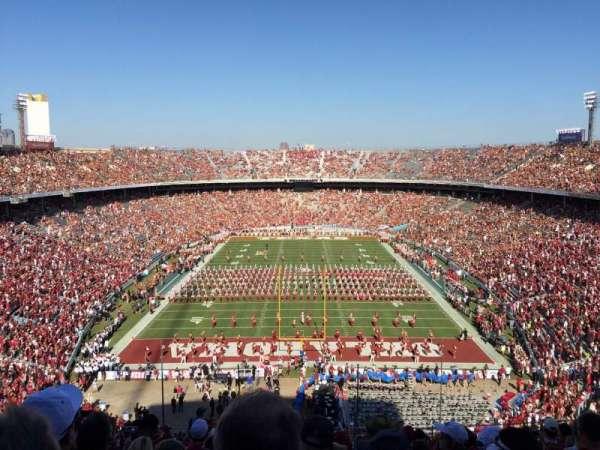 Cotton Bowl, secção: 138, fila: 17, lugar: 17