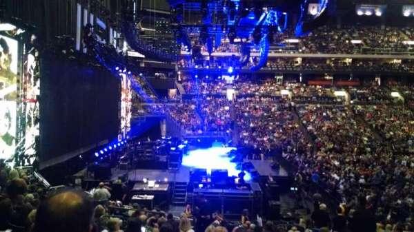 Nationwide Arena, secção: 117, fila: V, lugar: 6