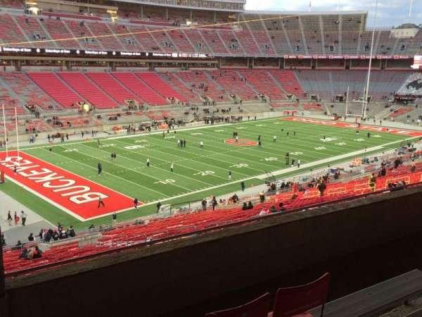Ohio Stadium, secção: 28B, fila: 5, lugar: 27