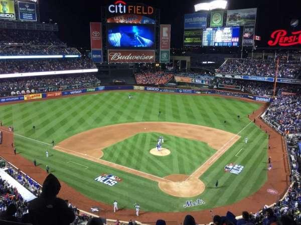 Citi Field, secção: 516, fila: 1, lugar: 6