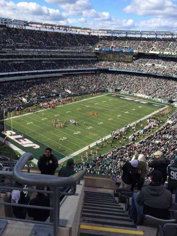 MetLife Stadium, secção: 320, fila: 12, lugar: 25