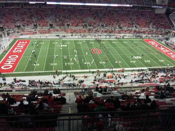 Ohio Stadium, secção: 19D