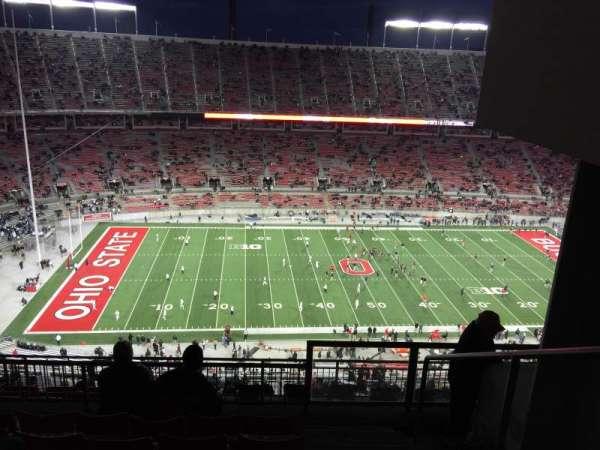 Ohio Stadium, secção: 19D, fila: 8, lugar: 25