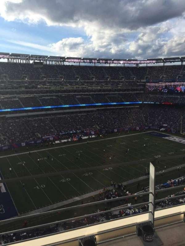 MetLife Stadium, secção: 317, fila: 2, lugar: 25