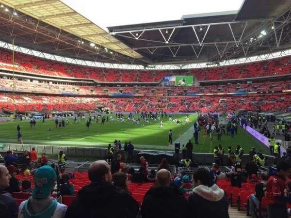 Wembley Stadium, secção: 131, fila: 19, lugar: 256