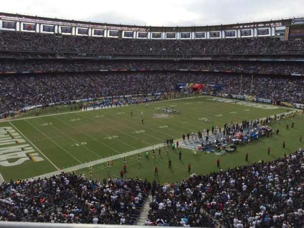San Diego Stadium, secção: C61, fila: 1, lugar: 10