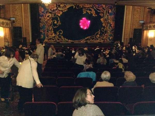 Palace Theatre (Stamford), secção: Orchestra, fila: V, lugar: 102