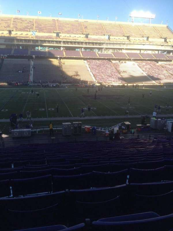 Bill Snyder Family Stadium, secção: 4, fila: 32, lugar: 21