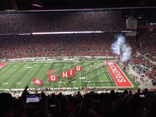 Ohio Stadium, secção: 23d, fila: 11, lugar: 15