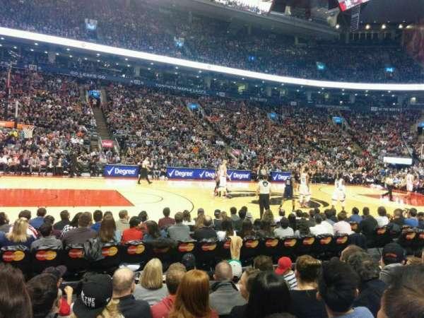 Scotiabank Arena, secção: 109, fila: 6, lugar: 19