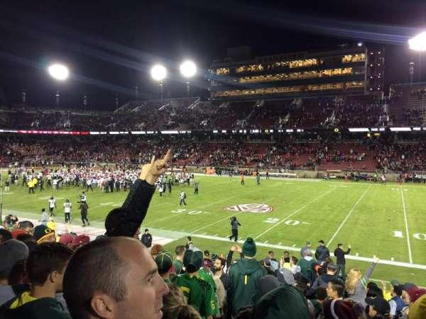 Stanford Stadium, secção: 130, fila: N, lugar: 20