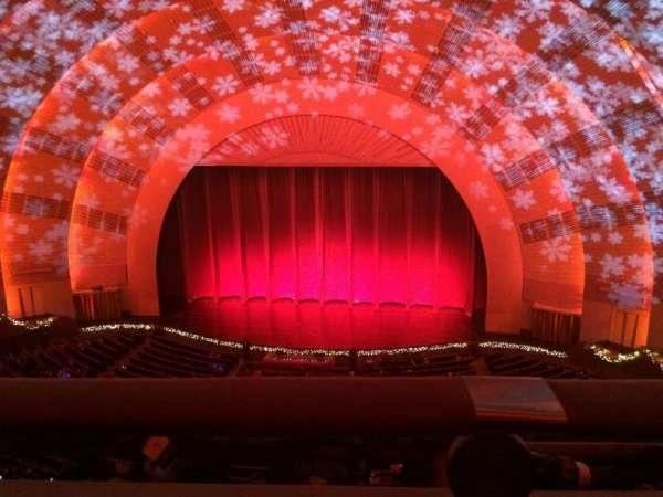 Radio City Music Hall, secção: 3rd Mezzanine 3, fila: A, lugar: 307