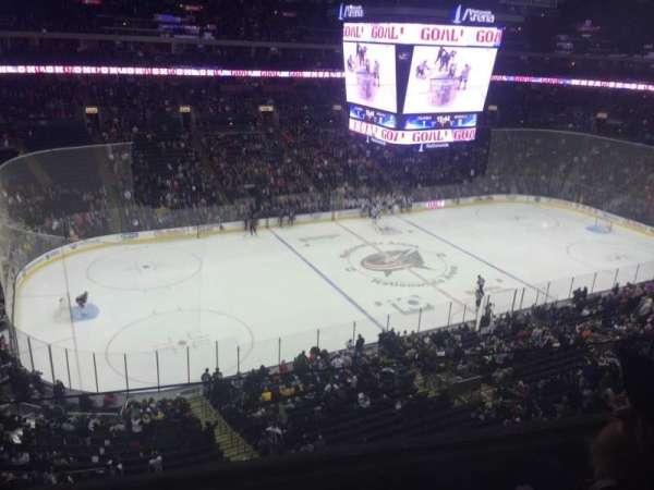 Nationwide Arena, secção: 219, fila: B, lugar: 14