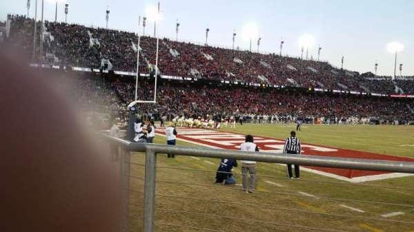 Stanford Stadium, secção: 120, fila: A, lugar: 3