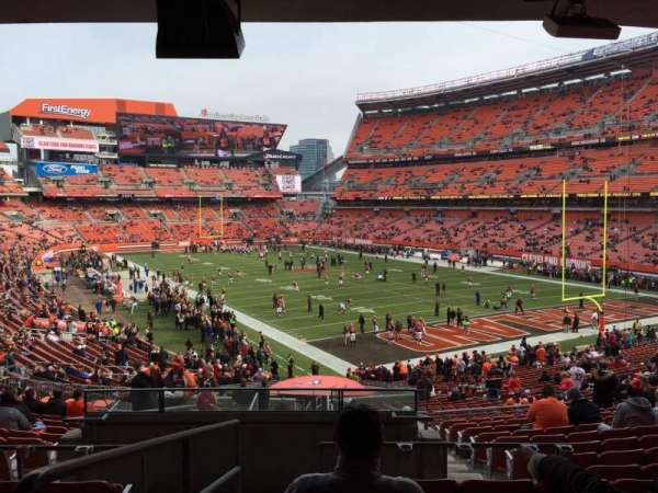FirstEnergy Stadium, secção: 144, fila: 36, lugar: 1