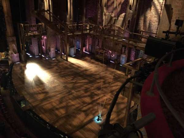 Richard Rodgers Theatre, secção: Box H, fila: 1, lugar: 2