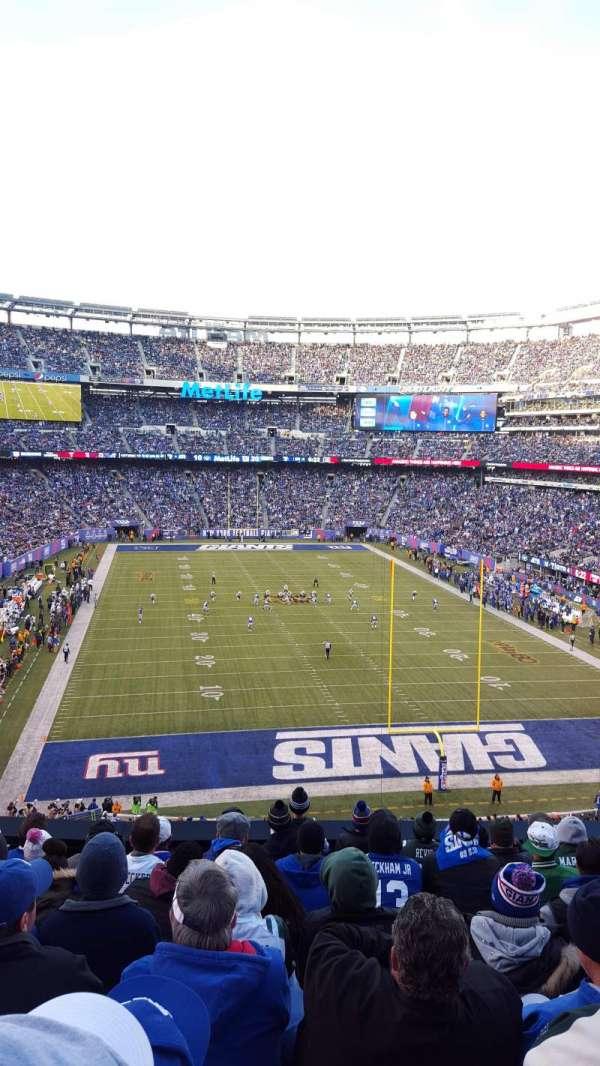 MetLife Stadium, secção: 228A, fila: 9, lugar: 9