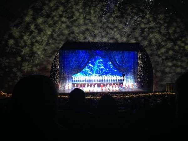 Radio City Music Hall, secção: 1st Mezzanine 5, fila: G, lugar: 509