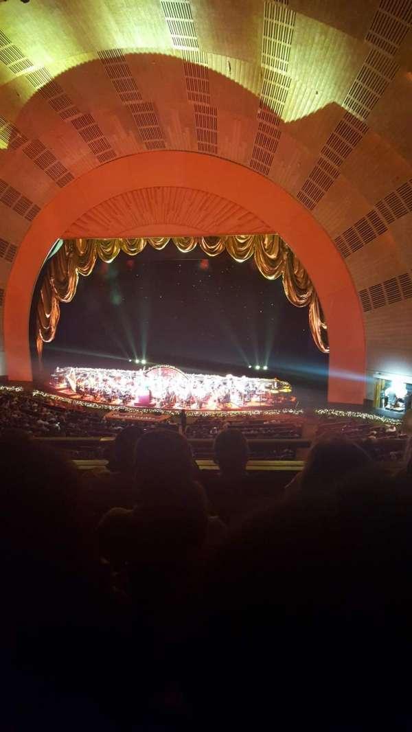 Radio City Music Hall, secção: 2nd mezzanine 2, fila: D, lugar: 206