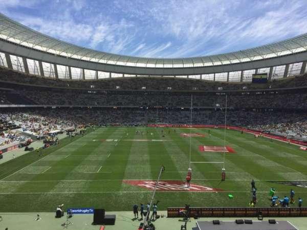 Cape Town Stadium, secção: 225, fila: 1, lugar: 20