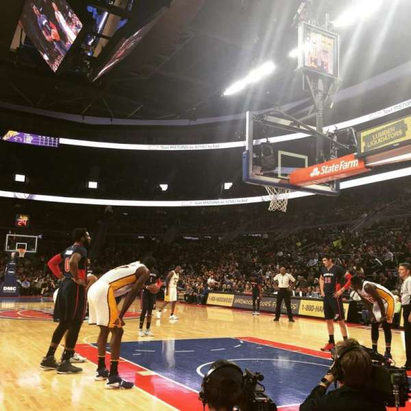The Palace of Auburn Hills, secção: VIP B, fila: 2, lugar: 9
