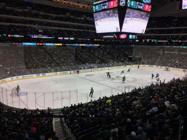 American Airlines Center, secção: 1156, fila: 1, lugar: 4