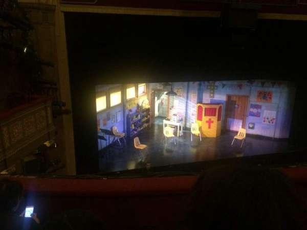 Booth Theatre, secção: Mezzanine R, fila: C, lugar: 2