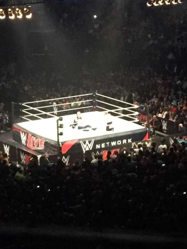 Madison Square Garden, secção: 201, fila: 1, lugar: 15