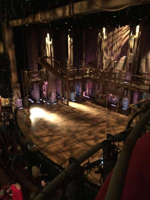 Richard Rodgers Theatre, secção: Box H, fila: 1, lugar: 3