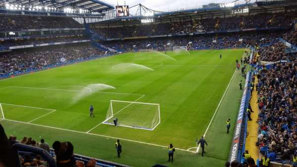 Stamford Bridge, secção: Shed End Upper 1, fila: 12, lugar: 60