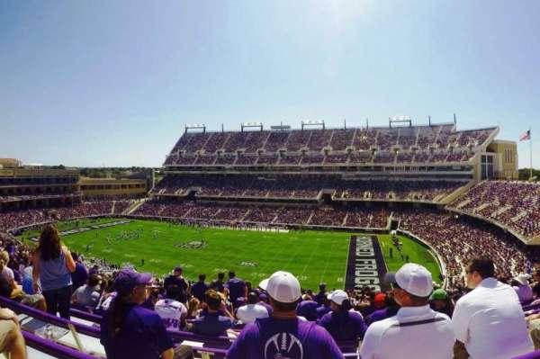 Amon G. Carter Stadium, secção: 231, fila: DD, lugar: 15