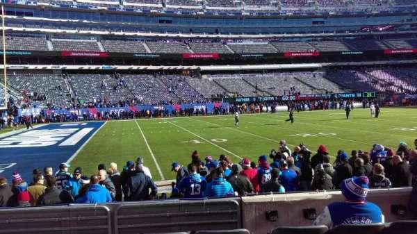 MetLife Stadium, secção: 143, fila: 5, lugar: 8